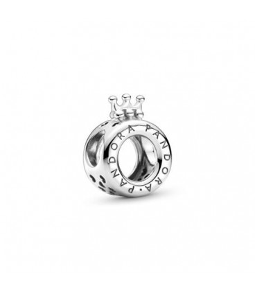 Charm logo y corona Pandora 799036C00