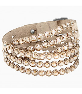 Pulsera Swarovski Power Colletion  Beige 5494230