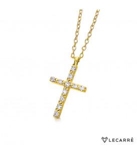 Colgante LeCarré cruz GD039OA
