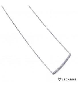 Colgante LeCarré barra diamantes GD012OB.00
