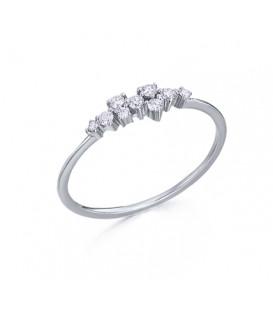 Anillo LeCarré Cascada diamantes GA056OB.13