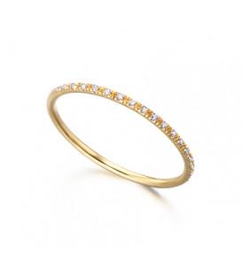 Anillo LeCarré Oro diamantes GA003OA.13