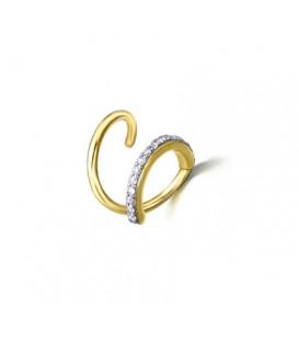 Pendiente LeCarré Espiral Diamantes GB014OA.00