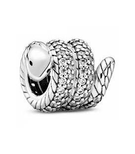 Abalorio Pandora Serpiente Enrollada Brillante 799099C01