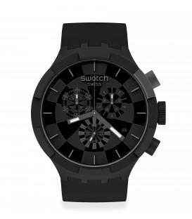 Reloj Swatch Checkpoint Black SB02B400
