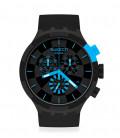 Reloj Swatch Checkpoint Blue SB02B401
