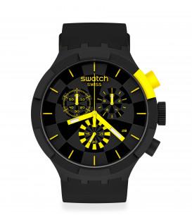 Reloj Swatch Checkpoint Yellow SB02B403