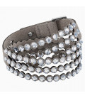 Pulsera Swarovski Power Collection Gris 5511698
