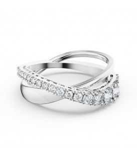 Anillo Swarovski Twist Rows 5572724