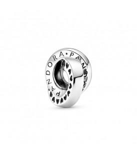 Separador corazones y logo entrelazado Pandora 799035C00