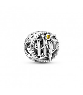 Charms plata de ley Logo de Harry Potter 799127C01