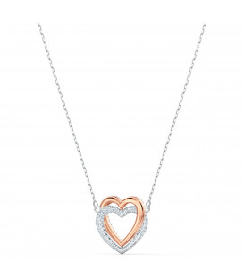 Collar Swarovski Infinity  Double Hearth 5518868