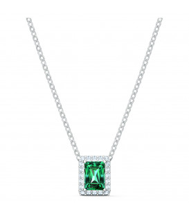 Collar Swarovski Angelic Rectangular Verde 5559380