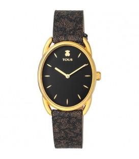 Reloj Dai acero IP dorado ovalado Tous 100350440