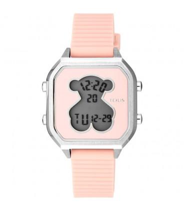 Reloj Tous D-bear Teen Plateado y Rosa 100350385