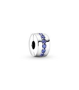 Clip Pandora Azul Brillante 791972C01