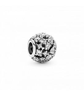 Abalorio Pandora Brillante con Filigrana 799225C01