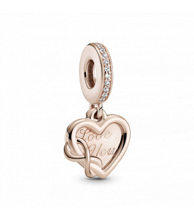 Charm Pandora Rose Infinito Love You 789369C01