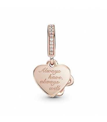 Charm Pandora Rose Infinito Love You 789369C01
