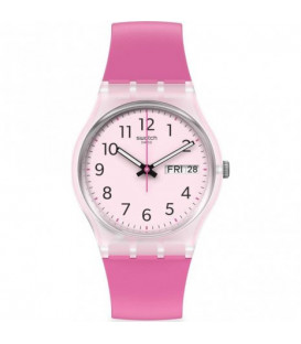 Reloj Swatch Rinse Repeat Pink GE724
