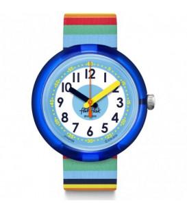 Reloj flik Flak Mystical Woods Stripybow ZFPN056