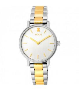 Reloj Rond Straight Tous bicolor, acero con IP dorado 100350475