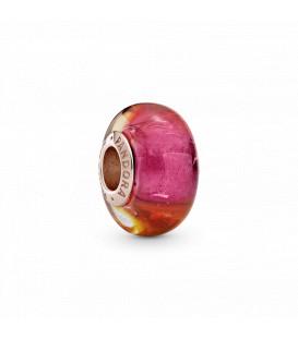 Charm cristal de murano Pandora brillo del atardecer 789440c00