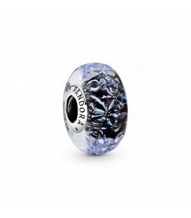 Abalorio Pandora Cristal Murano Azul Oscuro 798938C00