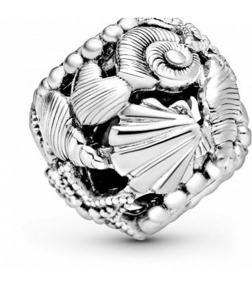 Abalorio Pandora Estrella de mar, Concha y Corazones en Filigrana 798950C00