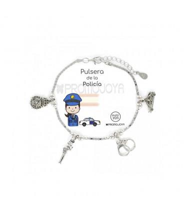 """Pulsera Promojoya """" Eres lo Más"""" Policia 9105691"""