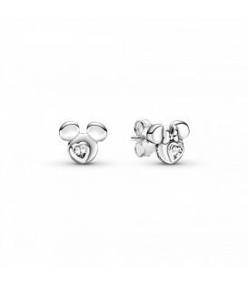 Pendientes Pandora Silueta Mickey y Minnie 299258C01