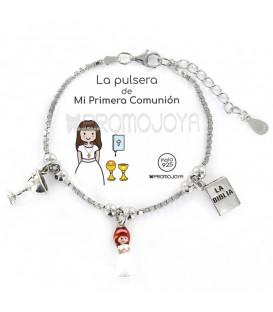"""Pulsera Promojoya """" Eres lo más"""" Comunión 9105910"""