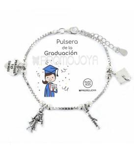 """Pulsera Promojoya """" Eres lo Más"""" Graduación 9107469"""