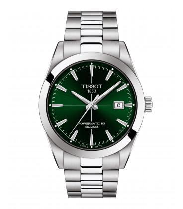 Reloj Tissot Gentleman Powermatic 80 Silicium Verde T127.407.11.091.01