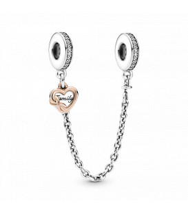 Cadena de Seguridad Pandora corazón familiar 789541C01-05