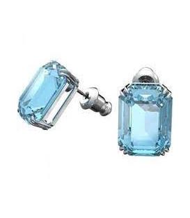 Pendientes Swarovski Millenia Octogonal Azul 5614935