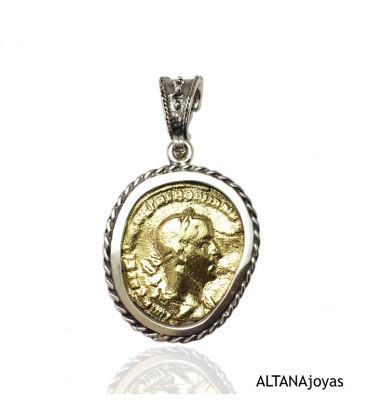 Colgante Altana Moneda Romana 11E0502