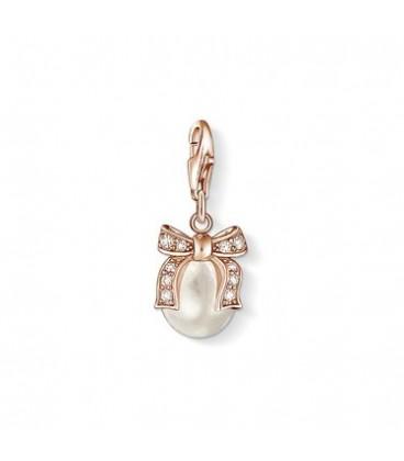 Charm perla con lazo Thomas Sabo