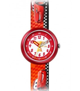 Reloj Flik Flak Diney Cars Lighting McQueen