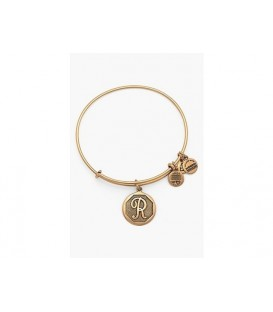 Pulsera Alex and Ani Letra R Oro