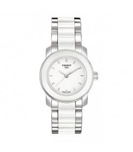 Reloj Tissot  Cera Blanco