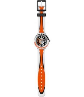 Reloj Flik Flak All Around Black and Orange