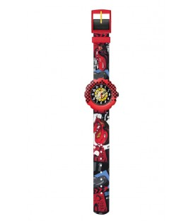 Reloj Flik Flak Cars Lighting McQueen