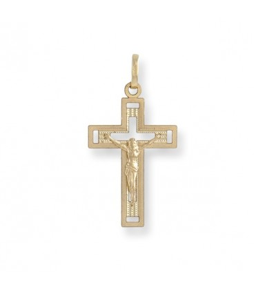 Cruz de 1ª Comunión Tallada Cristiana