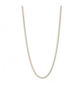 Necklace gracia  rodio oro amarillo 80cm