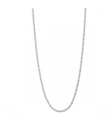 Necklace Oblongo plata 80cm