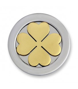Moneda 3D four leaves S
