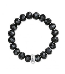 Pulsera Thomas Sabo Obsidiana Negra x0035-023-11