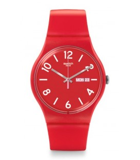 Reloj Swatch Backup Red