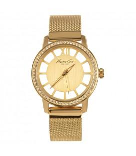 Reloj Kenneth Cole señora malla dorado